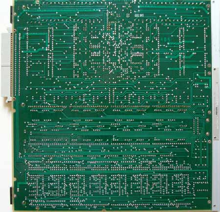 Line Card PCB view back